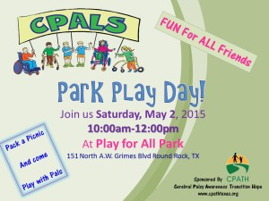 CPALS, Park Play Day